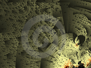 Fractal City Royalty Free Stock Photography - Image: 1998347