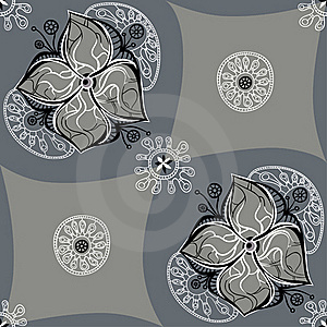 Flower Pattern Stock Photography - Image: 19901602
