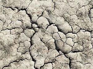 Cracked Ground Stock Image - Image: 19901861