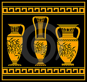 Hellenic Jugs Royalty Free Stock Images - Image: 19902949