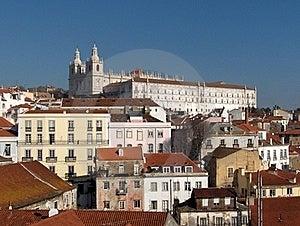 Panorama Of Lisbon - Alfama Royalty Free Stock Photo - Image: 19902955