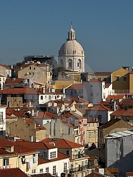 Panorama Of Lisbon - Alfama Stock Photo - Image: 19902970