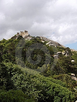 Sintra - Castelo Dos Mouros Stock Images - Image: 19903034