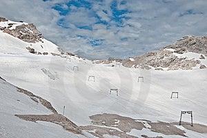 Zugspitze - Ski-lift Stock Photography - Image: 19904342