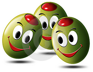 Olives Filled With Smile Stock Image - Image: 19904531