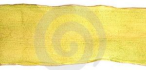 Dry Banana Leaf On White Stock Images - Image: 19904534
