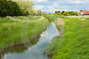 Stream Through Countryside Royalty Free Stock Image - Image: 19905776