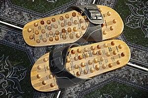 Reflex Sandals Royalty Free Stock Image - Image: 19906736