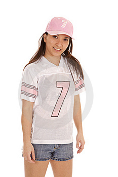 Football Pink Smile Stock Photos - Image: 19906853