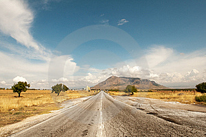 Andalusian Road Royalty Free Stock Photography - Image: 19907637