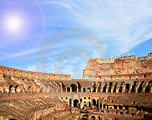 Architecture Colosseum Rome Royalty Free Stock Images - Image: 19907799
