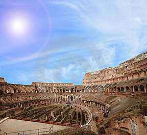 Colosseum Architecture Stock Photo - Image: 19907800