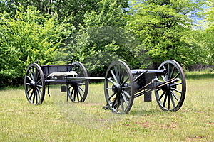 Civil War Cannon Royalty Free Stock Image - Image: 19908256