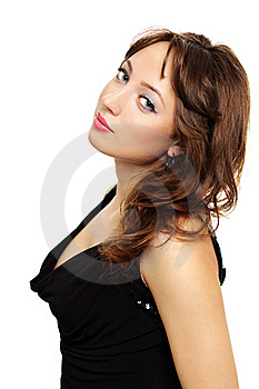 Young Elegance Woman Royalty Free Stock Image - Image: 19909026