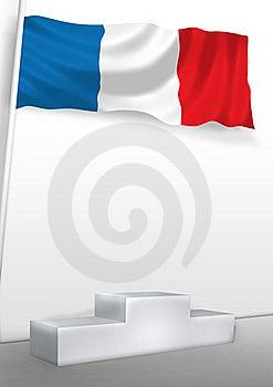 France On Pedestal Royalty Free Stock Image - Image: 19915356
