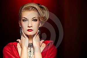 Attractive Blond Lady. Royalty Free Stock Images - Image: 19915989
