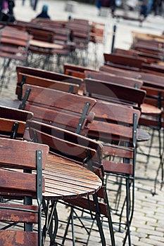 Empty Cafe Royalty Free Stock Image - Image: 19916106