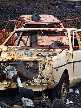 Car Wreck Royalty Free Stock Photos - Image: 19916498