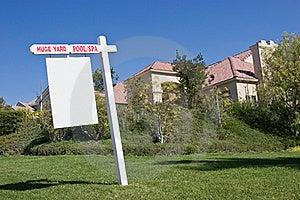 Yard Sign Stock Image - Image: 19918841