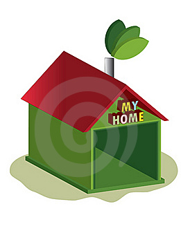 Ecology Home Royalty Free Stock Images - Image: 19919189