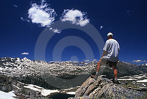 Hiking The Backcountry Stock Images - Image: 19920694