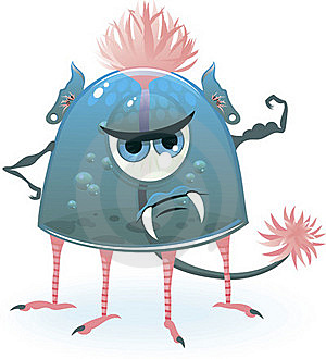 Monster Power In Vector Stock Images - Image: 19922114