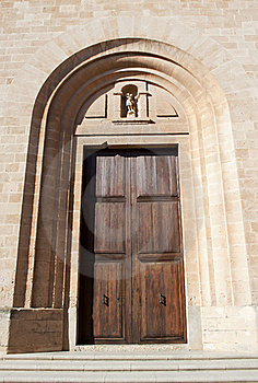 Cathedral Door, Raw Royalty Free Stock Photos - Image: 19922588