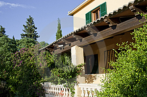 Traditional House In Majorca, Raw Royalty Free Stock Photography - Image: 19922597
