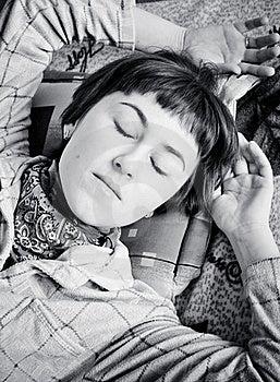 Young Woman Sleeping Stock Photos - Image: 19924873