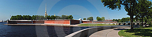 Peter And Paul Fortress Panorama Stock Photography - Image: 19925222