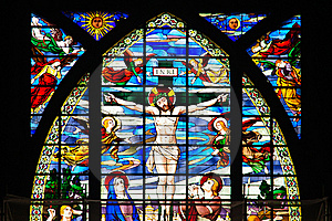 Colorful Stained Glass Window Royalty Free Stock Photography - Image: 19925857