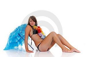 Teenager Girl In Bikini Royalty Free Stock Photos - Image: 19926058