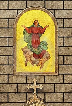 Virgin Mary Istanbul Stock Photo - Image: 19927170