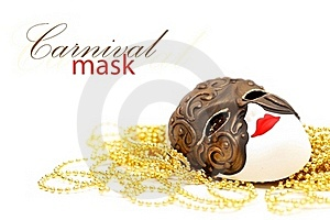 Mask With Bead Stock Photos - Image: 19929483