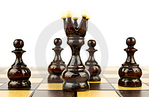 Chess Pieces Stock Photo - Image: 19929560