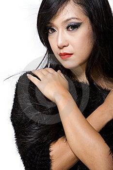 Asian Model Woman-Thai Ethnicity Beauty Royalty Free Stock Photo - Image: 19929575