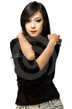 Asian Model Woman-Thai Ethnicity Beauty Royalty Free Stock Photography - Image: 19929587