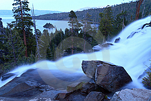 Eagle Falls Royalty Free Stock Image - Image: 19930436