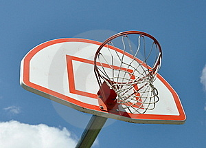 Basketball Hoop Royalty Free Stock Image - Image: 19933626