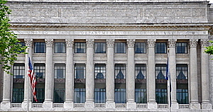 Department Of Agriculture Headquarters Building Royalty Free Stock Photography - Image: 19933627