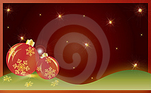 Christmas Card Gift Background Vector Illustration Royalty Free Stock Images - Image: 19934999