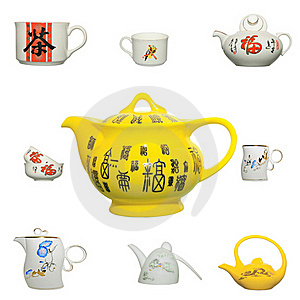Chinese Ceramics Product Icon Stock Images - Image: 19935314