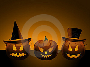 Halloween Pumpkins Royalty Free Stock Image - Image: 19935436
