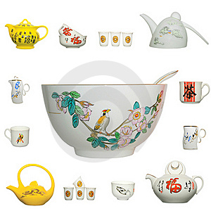 Chinese Ceramics Product Icon Stock Photo - Image: 19935450