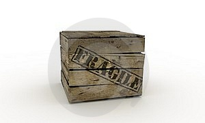 Fragile Crate Stock Images - Image: 19949484