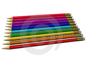 Colour Pencils For Drawing Stock Images - Image: 19951824
