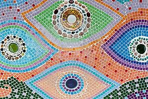 Ceramic Wall Stock Image - Image: 19955791