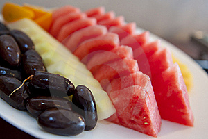 Fruit Platter Royalty Free Stock Images - Image: 19956649