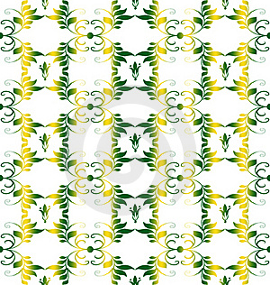 Seamless Floral Pattern Stock Images - Image: 19956804