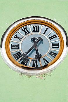 Church Clock Royalty Free Stock Photo - Image: 19957215